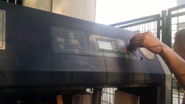 售后工程师做空压机节能改造