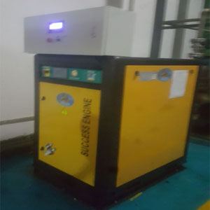 连云港机电行业空压机节能改造案例